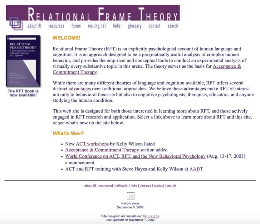 RFT Website